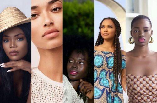 Article : Tchad : Ces mannequins qui domptent les podiums de défilés de mode