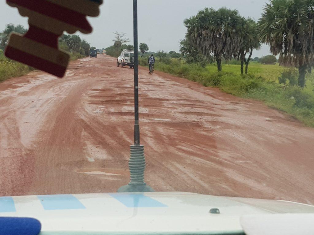 Voyage sur la route de l'enfer, entre N'Djaména et Kélo.