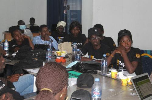 Article : U-Report Tchad forme des jeunes à l'utilisation responsable d'internet